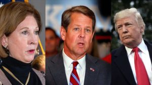 BREAKING: Trump and Sidney Powell Issue a Warning That Has Governor Kemp Clutching His Pearls