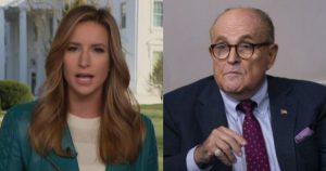 Fox News Reporter Goes In On Giuliani, 'Bold and Baseless'