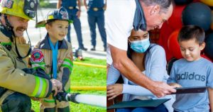 Fire Department Honors Boy, 4, Who Saved 2-year-old Brother From Drowning in Backyard Pool
