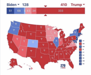 Rumors Fly That Server Seized In Raid Shows Trump Actually Got 410 Electoral Votes; Media Panics
