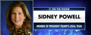 "Attorney Sydney Powell ""We've Identified The Exact Algorithm That Made Sure Biden Won"""